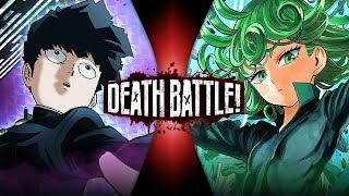 Mob VS Tatsumaki (Mob Psycho 100 VS One Punch Man) | DEATH BATTLE!