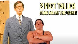Andre the Giant vs Robert Wadlow, Giant vs World's Tallest Man - 9 Feet Tall