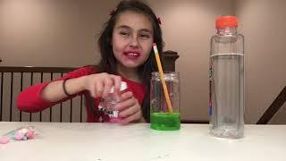 Teaching Miranda sings jr how to make slime
