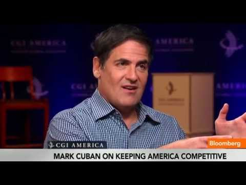 Mark Cuban: Only Morons Start a Business on a Loan - YouTube