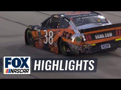 Nemechek's back-to-back crashes create disastrous start at Toyota 500 | NASCAR ON FOX HIGHLIGHTS