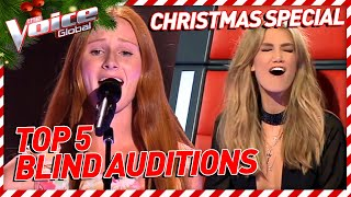 Which Blind Audition on The Voice brought TEARS to SANTA'S eyes? | Special #2