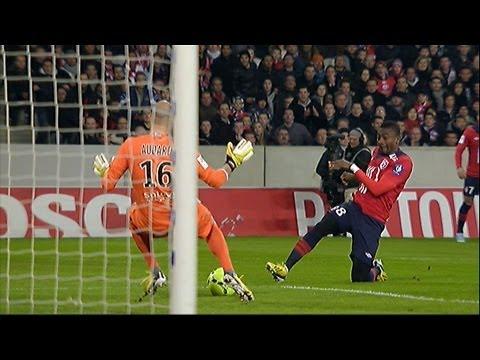 But Salomon KALOU (3') - LOSC Lille - FC Lorient (5-0