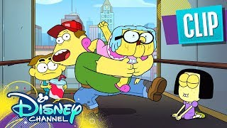 Trapped in an Elevator | Big City Greens | Disney Channel