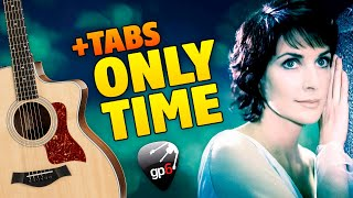ENYA - Only Time Meme (fingerstyle guitar cover with free tabs)