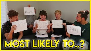 WHO'S MOST LIKELY TO!? (Ft. Roommates!)