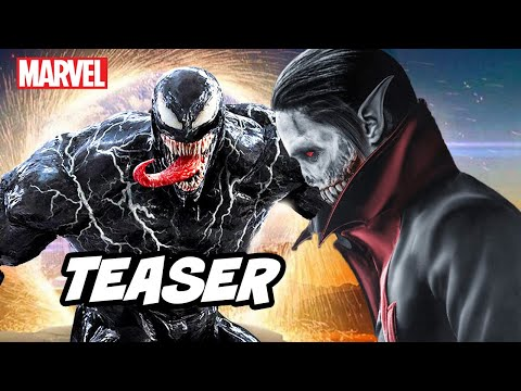 Venom Morbius Teaser Breakdown - Marvel Spider-Man and Deleted Scenes