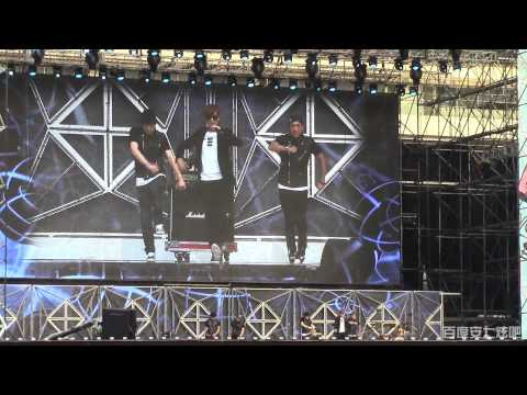 【Baidu Anqixuan Bar】20140815 SMT 강타(Kangta) 전사의후예+We Are The Future+스물셋+애빈률