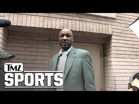 Lamar Odom Answering Questions After Being On The View | TMZ Sports