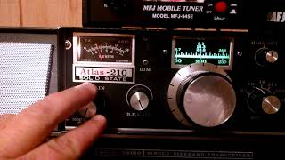 Fixed my Atlas 210x radio and Crazyness on 40m 7.200mhz