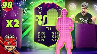 OMG 2 INSANE FUTURE STAR PACKED! FIFA 19 Ultimate Team RTG #98