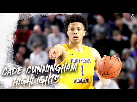 Cade Cunningham Montverde 2019-20 Season Highlights Montage | Oklahoma State??