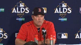 HOU@BOS Gm4: Farrell on falling short in the ALDS