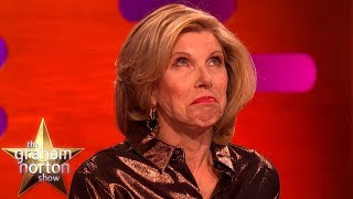 Christine Baranski Has A Strange Connection With Michael Sheen's Penis | The Graham Norton Show