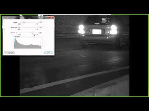 Avigilon Image Adjustment Demonstration by AlertSystems Ltd