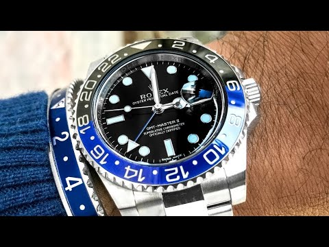 video Rolex 'Batman' GMT-Master II – 116710 BLNR