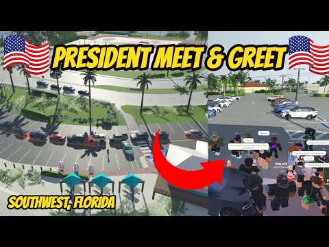 Southwest, Florida Roblox l President Escort Rp *MEET & GREET*