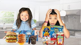 SWAPPING DIETS with an 8 YEAR old!