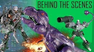 Behind the Scenes | Megatron VS Megatron VS Megatron ! Transformers Stop Motion Animation |