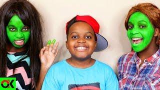 GREEN FACE! - Shiloh and Shasha - Onyx Kids
