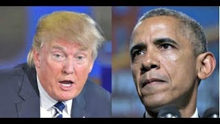 OBAMAS SICK ORDER TO FRAME TRUMP EXPOSED!