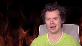 harry styles on literal crack