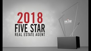 2018 Charlotte Five Star Real Estate Agent Wisdom Stikeleather