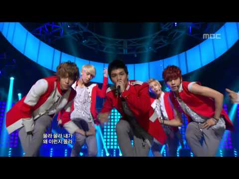 TEEN TOP - Be ma girl, 틴탑 - 나랑 사귈래, Music Core 20120825