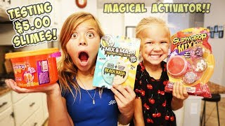 TESTING OUR NO BUDGET STORE BOUGHT SLIME!!