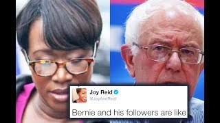 Joy Reid Lies About Bernie's... Marriage?