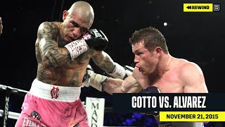 FULL FIGHT | Miguel Cotto vs. Canelo Álvarez (DAZN REWIND)