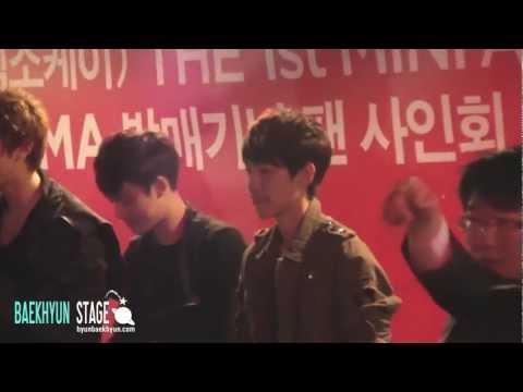 [1080P]120430 EXO-K Iljeongpo Fansign - Baekhyun fancam