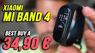Provo XIAOMI MI BAND 4 : E' Lo SMARTWATCH definitivo? ( 34,90€ )