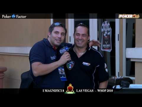 WSOP 2010 - MAGNIFICI 8 di Poker Club by LOTTOMATICA a Las Vegas Video 1