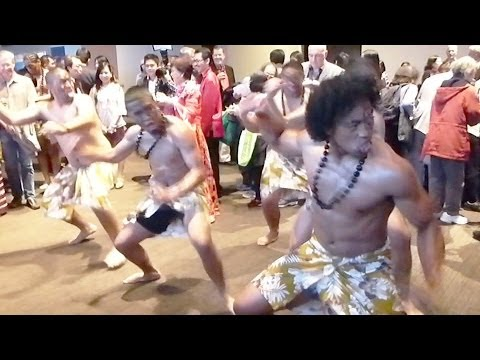 New Zealand Tribal Performers (YT3D:Enable=True)