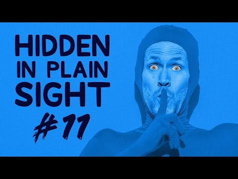 Can You Find Him in This Video? • Hidden in Plain Sight #11