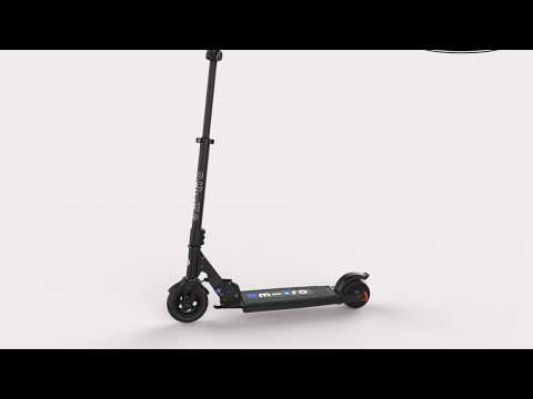 Video MICRO Trottinette Electrique FALCON Noir