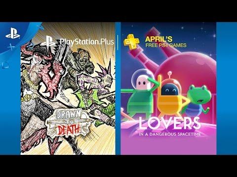 PlayStation Plus - Free PS4 Games Lineup April 2017