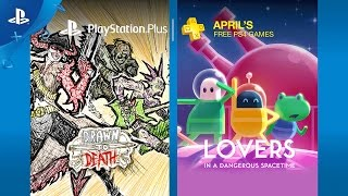 Love and death in free PlayStation Plus games for April