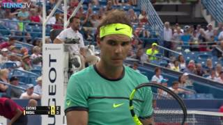 2016 Western and Southern Open, Cincinnati: Wednesday Highlights ft. Murray, Nadal & Wawrinka