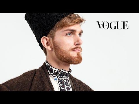 100 лет моды: Украина, мужской костюм   100 Years of Ukraine's Fashion: Men