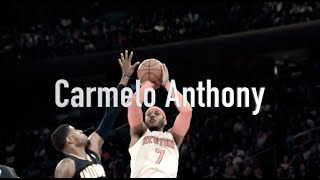 Attention to Detail: Carmelo Anthony