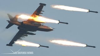 """Is Russia's Su-25 """"Flying Tank"""" Superior to America's A-10 Warthog?"""