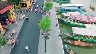 Phố Cổ Hội An tuyệt đẹp - Góc nhìn Flycam