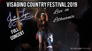 Jessica Lynn - Live in Lithuania - 08 24 2019 - Full Concert