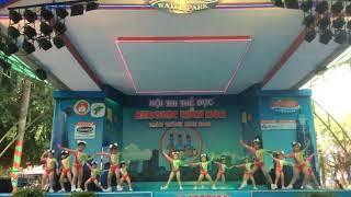 Aerobic Đất Nam - ước mơ xanh - thi đấu aerobic mầm non 2018