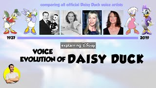 Voice Evolution of DAISY DUCK Over 82 Years (1937-2019) Explained