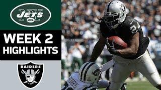 Jets vs. Raiders | NFL Week 2 Game Highlights