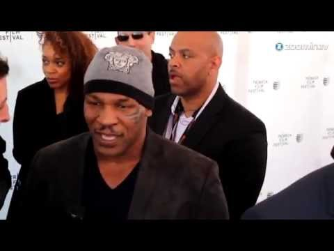 Mike Tyson supports Ukraine: 'Get out of Ukraine'