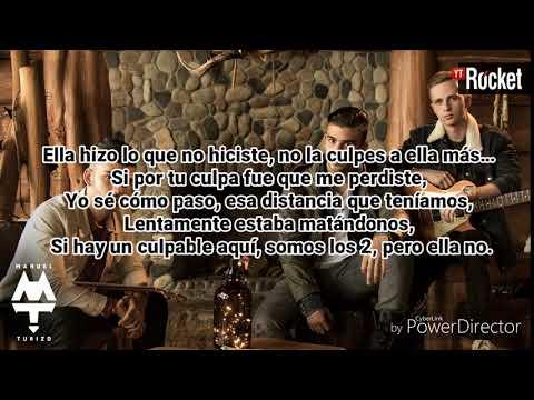 MTZ Manuel Turizo - Culpables (LETRA)